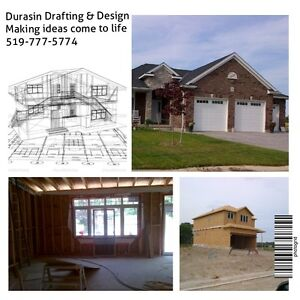 BCIN Building Permit Drawings, New Builds, Additions, Renos London Ontario image 2