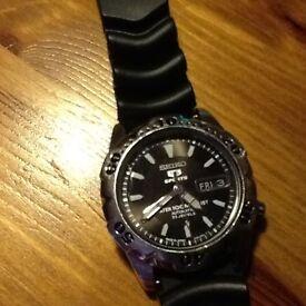 Vintage Seiko mid size divers watch