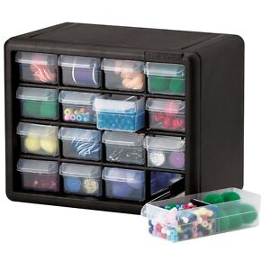 Craft & Hobby Plastic Storage Cabinets and Organizers