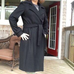Calvin Klein Wool Coat Black