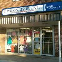 Tailor, Seamstress, Alterations and Dry Cleaning - Ottawa