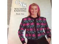 Cys machine knitting book one