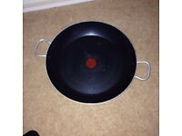 """Tefal Red Spot Non-Stick 15"""" / 38cm Paella Pan ** VGC - Used a couple of times only **"""