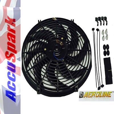 AeroLine Electric car radiator cooling fan , Universal  14 inch fitting