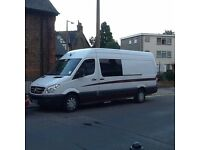 Mercedes Benz SPRINTER race support motor home, professionally converted suit moto cross