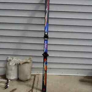 Fischer skis and bindings