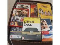 BARGAIN BOX OF DVDS