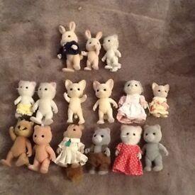 Sylvanian families animals