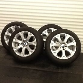 Genuine BMW X5 e70 WinterTyres and Alloy Wheels