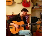 Experienced guitar teacher - Rock, Fingerstyle/Folk, Gypsy Jazz