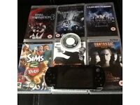 Slim&lite Psp with games and charger good working order