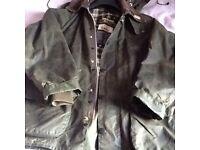 Ladies Barbour Wax Jacket with hood