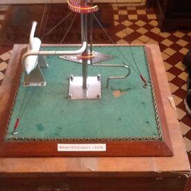 Gas burner model