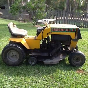 Greenfield Ride On Mower Mudgeeraba Gold Coast South Preview