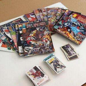 Comics and hockey cards - Lot #3
