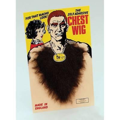 Brow Fake Hairy Chest Medallion Man 70's Fancy Dress](Fake Chest Hair)