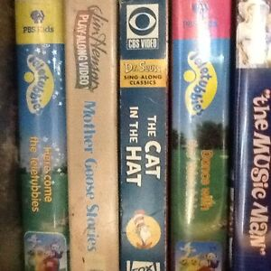 CHILDRENS VHS TAPES 2 for $1, over 100 tapes Disney & others.