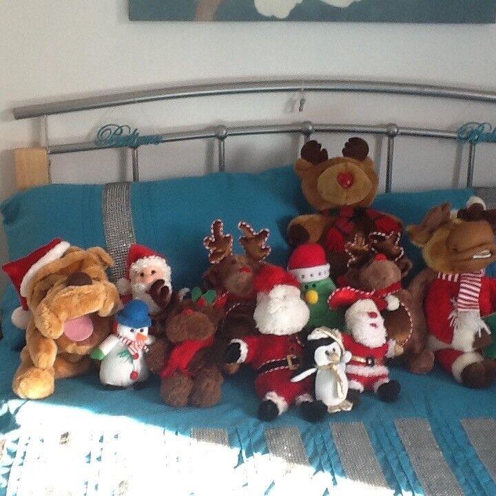 Christmas soft toys
