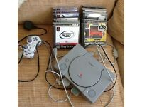 PlayStation ps1 with 14 games