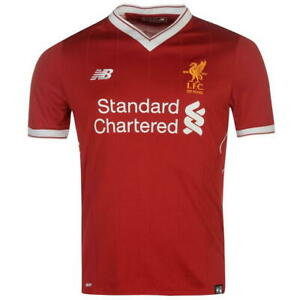 2017-2018 Liverpool Home Jersey (Size L)