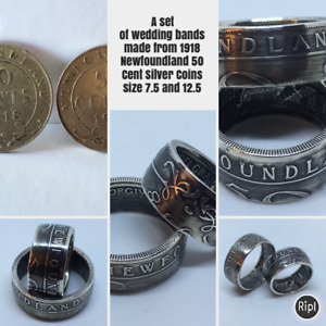 Custom Mde Coin Rings For Sale