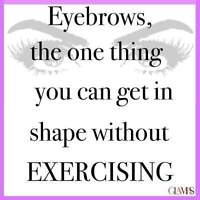 Let your Eyebrows Talking