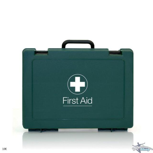 Workplace First Aid Kit - HSE Compliant - 1 - 10 Person - Long Expiration