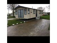 Caravan for rent at flamingoland