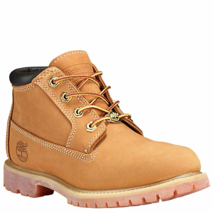 Women's Timberland Nellie Waterproof  Chukka Boots Wheat Nubuck 23399