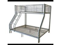 Bunk bed, double & single