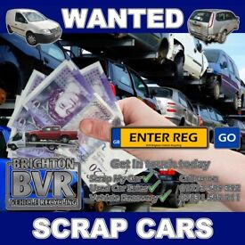 All Scrap Vehicles Collected Burgess Hill & Throughout Sussex [Cars, Vans & 4x4s] Cash Waiting