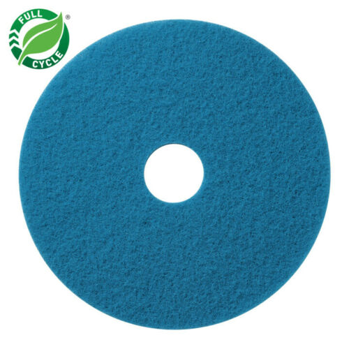 """12"""" Blue Floor Cleaning Pad For Oreck and Bissel Floor Machines"""