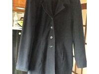 Ladies navy jacket mint condition