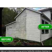 Window, Siding and Eavestrough Cleaning