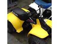 Suzuki lt50 plastics breaking whole quad