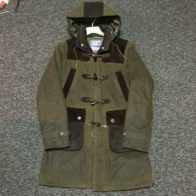 Barbour X White Mountaineering Auth Oiled Cotton Coat Size S Used from Japan