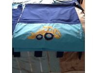 Little digger curtains/bedding