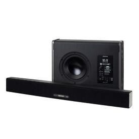 *Free Installation* Monitor Audio Soundbar Speaker ASB-10 & WS-10 Subwoofer Cinema Surround Sound