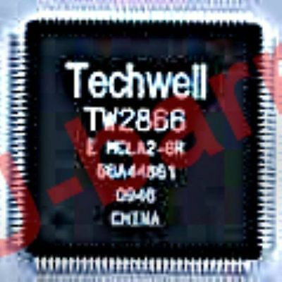 Techwell Tw2866 Qfp Integrated Circuit