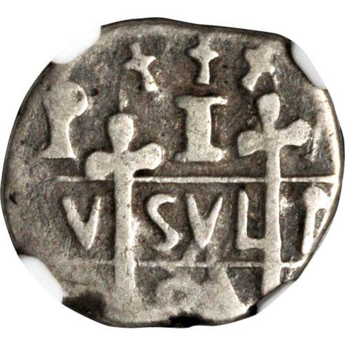 1824 Honduras 1 Real, Tegucigalpa Mint, NGC F 12, Seldom Offered Cob Coinage