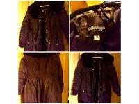 Golddigga - Black Lightweight Jacket - Size 14 - BNWOT