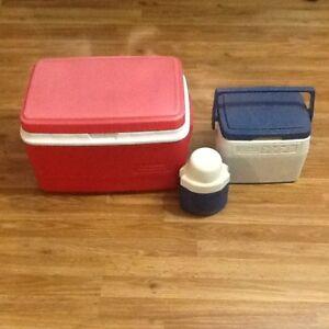 Glacière + boîte à lunch
