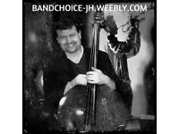 Double bass player for gigs and recording