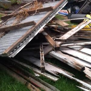 Assorted building materials from lean to/shed. Latrobe Latrobe Area Preview
