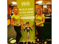 £10 Per Hour Paid ( And £10 Travel ) To Confident And Friendly Promo Staff in Bristol!