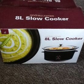 Andrew James 8L Slow Cooker