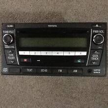 Toyota Genuine stereo Radio Bluetooth Handsfree MP3 Player USB Prestons Liverpool Area Preview