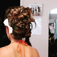 Hair stylist for wedding
