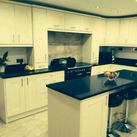 Kitchen fitter specialising in acrylic worktops