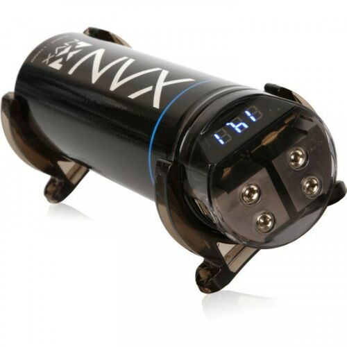 NVX XCAP1F True 1.0 Farad 20V Capacitor with Digital Read-out